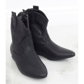 Saszki damskie licowe czarne NC1058 Black 2