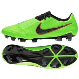 Buty piłkarskie Nike Phantom Venom Elite Fg M AO7540 306 zielone wielokolorowe 2