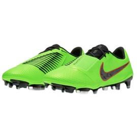 Buty piłkarskie Nike Phantom Venom Elite Fg M AO7540 306 zielone wielokolorowe 3