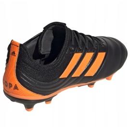 Buty piłkarskie adidas Copa 20.1 Fg Jr EH0887 czarne pomarańczowy, czarny, pomarańczowy 1