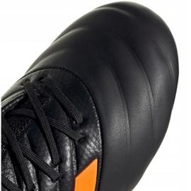 Buty piłkarskie adidas Copa 20.1 Fg Jr EH0887 czarne pomarańczowy, czarny, pomarańczowy 4