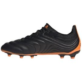Buty piłkarskie adidas Copa 20.1 Fg Jr EH0887 czarne pomarańczowy, czarny, pomarańczowy 6