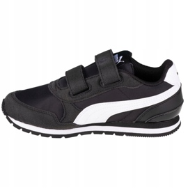 Buty Puma St Runner V2 Nl Ps Jr 365294 01 czarne różowe 1