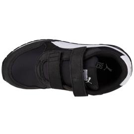 Buty Puma St Runner V2 Nl Ps Jr 365294 01 czarne różowe 2