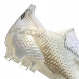 Buty piłkarskie adidas X Ghosted.1 Fg M EG8258 wielokolorowe białe 1