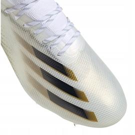 Buty piłkarskie adidas X Ghosted.1 Fg M EG8258 wielokolorowe białe 3