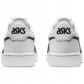 Buty dla dzieci Asics Japan S Gs białe 1194A076 103 czarne czerwone 4