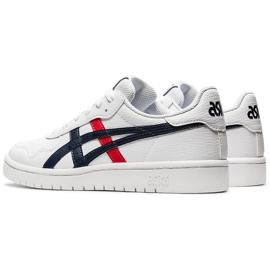 Buty dla dzieci Asics Japan S Gs białe 1194A076 103 czarne czerwone 5