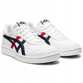 Buty dla dzieci Asics Japan S Gs białe 1194A076 103 czarne czerwone 3