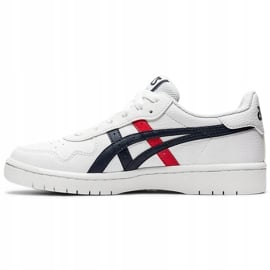 Buty dla dzieci Asics Japan S Gs białe 1194A076 103 czarne czerwone 2