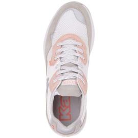 Buty Kappa Laverton W 242930 1021 białe różowe szare 1