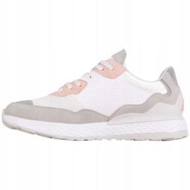 Buty Kappa Laverton W 242930 1021 białe różowe szare 2