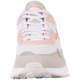 Buty Kappa Laverton W 242930 1021 białe różowe szare 3
