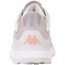 Buty Kappa Laverton W 242930 1021 białe różowe szare 4