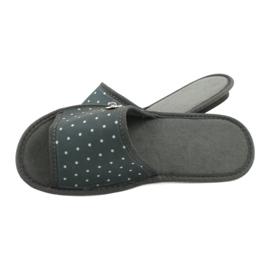 Befado Inblu obuwie damskie  155D105 szare 4