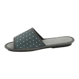 Befado Inblu obuwie damskie  155D105 szare 2