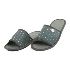 Befado Inblu obuwie damskie  155D105 szare 3