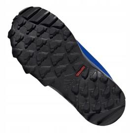 Buty adidas Terrex Snow Cf Cp Cw Jr G26579 czarne niebieskie szare 1