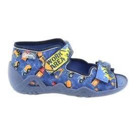 Befado obuwie dziecięce  250P096 srebrny wielokolorowe 1