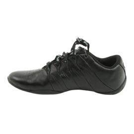 Sprandi Buty sportowe młodzieżowe czarne niebieskie 1