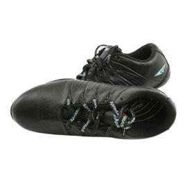 Sprandi Buty sportowe młodzieżowe czarne niebieskie 4
