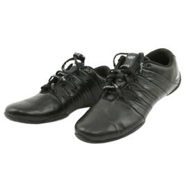 Sprandi Buty sportowe młodzieżowe czarne niebieskie 2