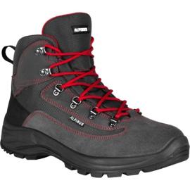 Buty trekkingowe Alpinus Brahmatal High Active GR43321 czarne czerwone szare 1