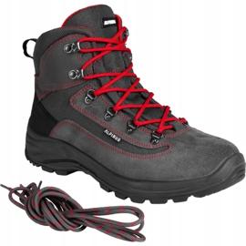 Buty trekkingowe Alpinus Brahmatal High Active GR43321 czarne czerwone szare 2