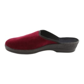 Befado obuwie damskie pu 219D427 czerwone 2