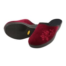 Befado obuwie damskie pu 219D427 czerwone 4