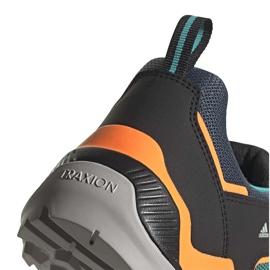 Buty adidas Terrex Eastrail FV6860 czarne pomarańczowe niebieskie 4