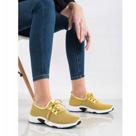 Kylie Klasyczne Buty Sportowe żółte 3