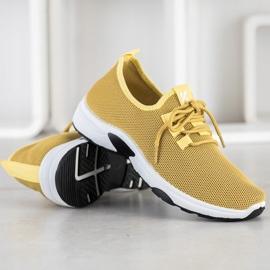 Kylie Klasyczne Buty Sportowe żółte 2