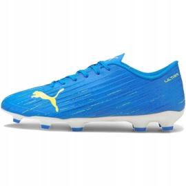 Buty piłkarskie Puma Ultra 4.2 Fg Ag M 106354 01 niebieskie niebieskie 1