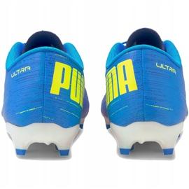 Buty piłkarskie Puma Ultra 4.2 Fg Ag M 106354 01 niebieskie niebieskie 3