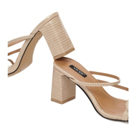 Vices 3377-42-beige beżowy 1