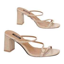 Vices 3377-42-beige beżowy 2