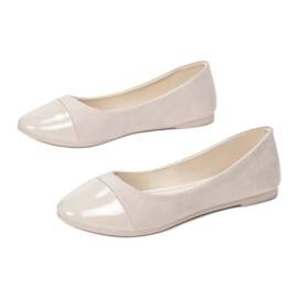 Vices JB057-42-beige beżowy 1