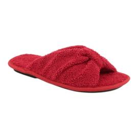 Befado Inblu obuwie damskie  155D100 czerwone 1