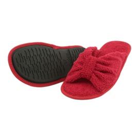 Befado Inblu obuwie damskie  155D100 czerwone 4