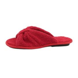 Befado Inblu obuwie damskie  155D100 czerwone 2