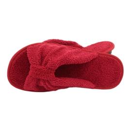 Befado Inblu obuwie damskie  155D100 czerwone 5