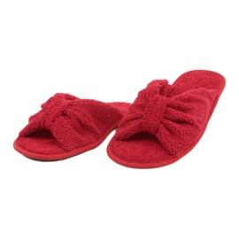 Befado Inblu obuwie damskie  155D100 czerwone 3