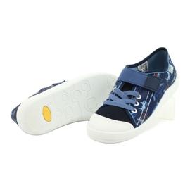 Befado obuwie dziecięce 251Y154 granatowe niebieskie 4