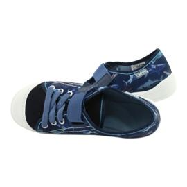 Befado obuwie dziecięce 251Y154 granatowe niebieskie 5
