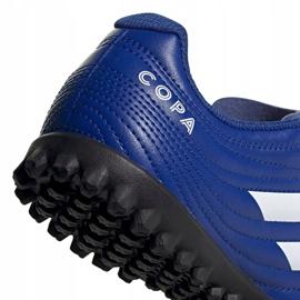 Buty piłkarskie adidas Copa 20.4 Tf Jr EH0931 wielokolorowe niebieskie 3