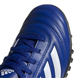 Buty piłkarskie adidas Copa 20.4 Tf Jr EH0931 wielokolorowe niebieskie 4