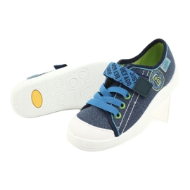 Befado obuwie dziecięce 251X130 niebieskie 4