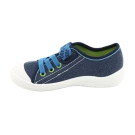 Befado obuwie dziecięce 251X130 niebieskie 2