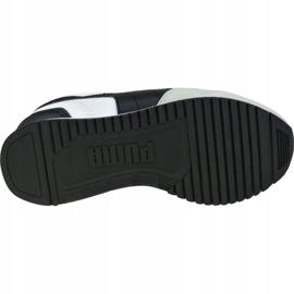 Buty Puma R78 V Ps Jr 373617 02 białe czarne szare 3